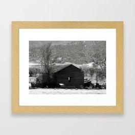 Cozy Cabin Framed Art Print