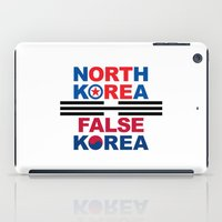 korea iPad Cases featuring North Korea by pollylitical