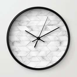 Style of Tile - Marble Wall Clock