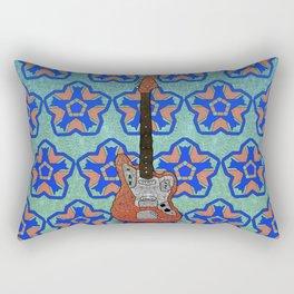 Red Jaguar Rectangular Pillow