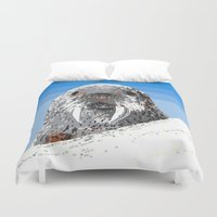 walrus Duvet Covers featuring Walrus by wingnang