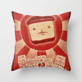 Tofu Revolution Throw Pillow