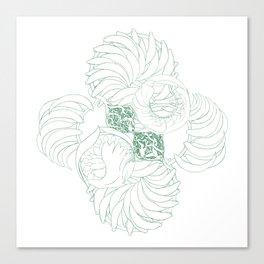 A Kelp Swirl's Canvas Print