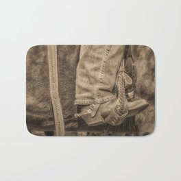 Cowgirl Up Bath Mat