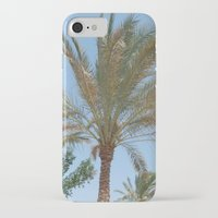 palm trees iPhone & iPod Cases featuring Palm Trees by MehrFarbeimLeben