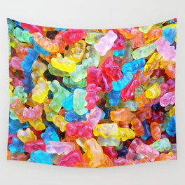Gummy Bear Don't Care Wall Tapestry
