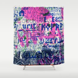 Ecce Gosta Shower Curtain