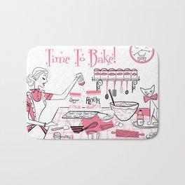 Time To Bake Bath Mat