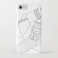 socks iPhone & iPod Cases featuring Socks.  by novacaeli