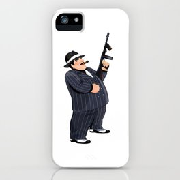gangster iPhone Case