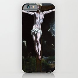 El Greco Christ On The Cross iPhone Case