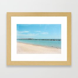 AFE Toronto Island Beach 6 Framed Art Print