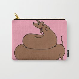 Poopy wiener Carry-All Pouch