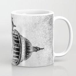 St Paul's Cathedral London Snow Coffee Mug