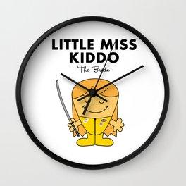 Little Miss Kiddo Wall Clock