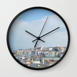 Rooftops of Istanbul Wall Clock
