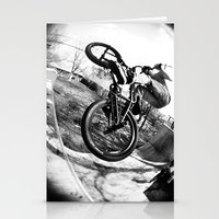 bikes Stationery Cards featuring bikes  by KayleeRae