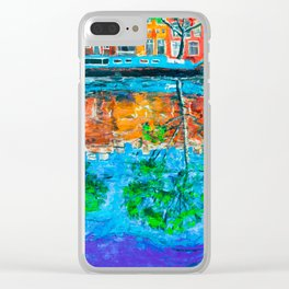 Reflections of Amsterdam Clear iPhone Case