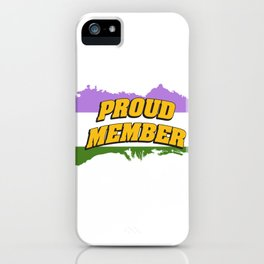 proud - Gay Pride T-Shirt iPhone Case