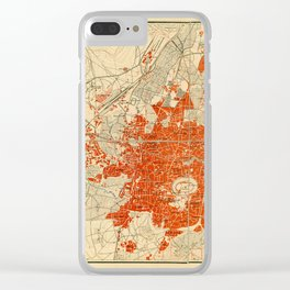 Map Of Aleppo 1929 Clear iPhone Case
