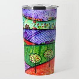 Landscape - Boone, North Carolina Travel Mug