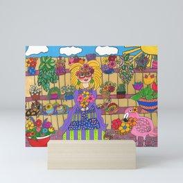 Maisie's Secret Garden Mini Art Print