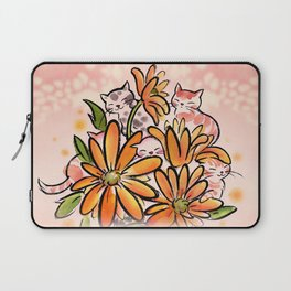Camomile cats Laptop Sleeve