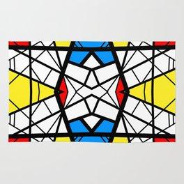 Shattered - geometric graphic design Rug