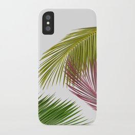 Palm leaf iPhone Case
