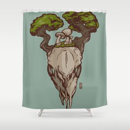 From Death Shower Curtain
