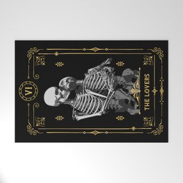 The Lovers VI Tarot Card Welcome Mat