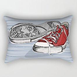 Converse Shoes Rectangular Pillow