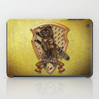 hufflepuff iPad Cases featuring Hufflepuff harry potter by JanaProject