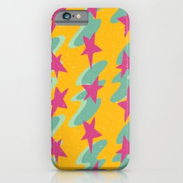 waves and stars iPhone Case