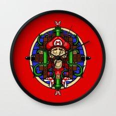 Mario's Melancholy Wall Clock
