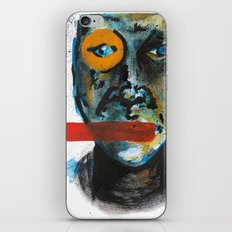 Geometry Face iPhone & iPod Skin