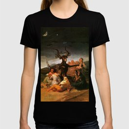 The Sabbath of witches - Goya T-shirt