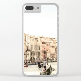 Canale Grande Clear iPhone Case