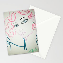 pink minx Stationery Cards