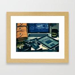 Morning Bruce Framed Art Print
