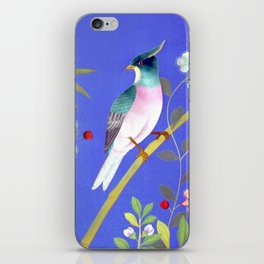 the elusive blue of a summer's twilight iPhone Skin