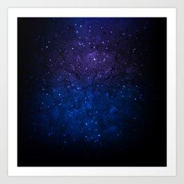 Dark Galaxy Art Print