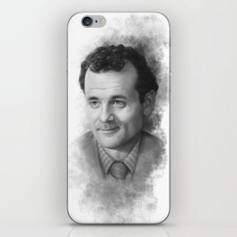 Peter Venkman ( Bill Murray ) Sketch iPhone Skin