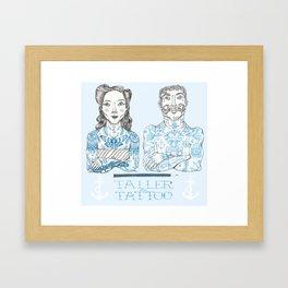 Taller Tattoo Framed Art Print