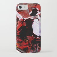 boxing iPhone & iPod Cases featuring Boxing MJ by Genco Demirer