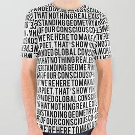 Manifesto All Over Graphic Tee