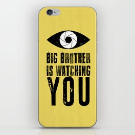 Big Brother is Watching YOU! iPhone Skin