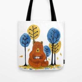 Coffee Bear Tote Bag