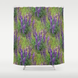 Lupines Galore.... Shower Curtain