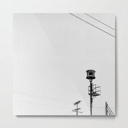 Air Raid Siren In Los Angeles Metal Print